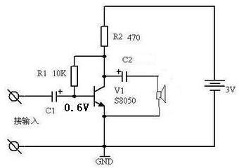 用三极管做无触点开关控制直流电机正反转电路如下