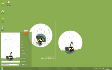 是国内的优秀原创漫画主角儿,可爱的罗小黑,眼神是那么的无辜,打着伞