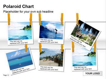 旅游照片展示ppt模板