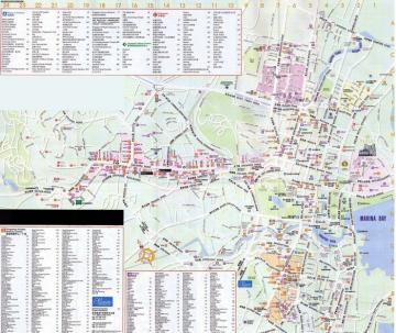 新加坡旅游全图地图